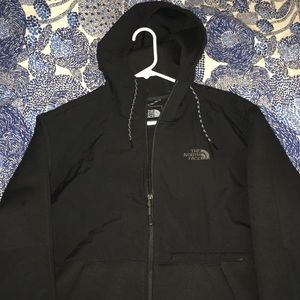 The North Face Denali Hoodie Jacket Size XL Black
